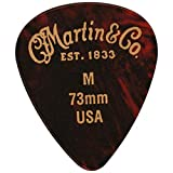 Martin & Co. APK1M Plektren Medium 0.73mm 12er Set