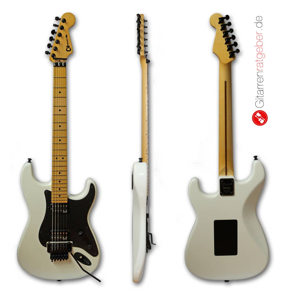 Aufbau einer E-Gitarre - alle Teile mit Bildern erklärt