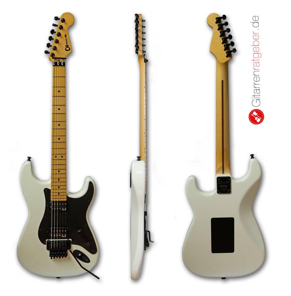 Aufbau einer E-Gitarre