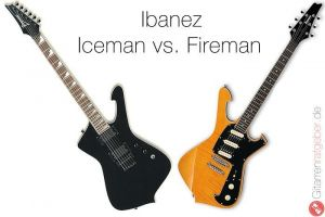 Ibanez Iceman vs Fireman