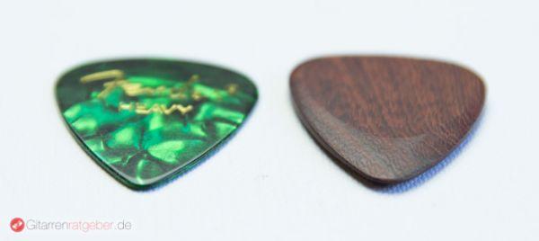 Timber Tones Santos Rosewood Höhenvergleich