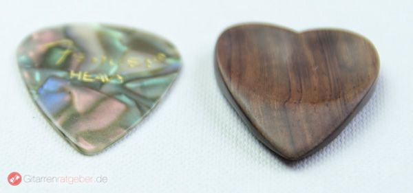Timber Tones Heart Tones Palisander Höhenvergleich