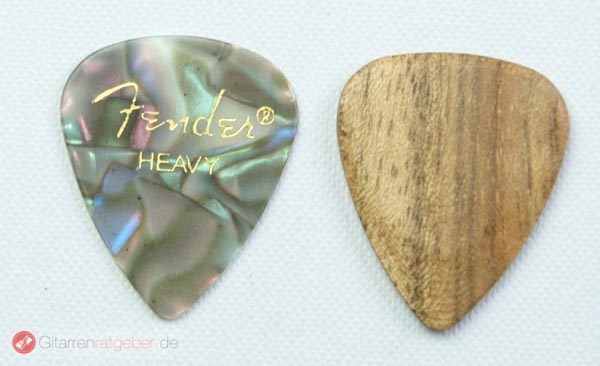Timber Tones Holzpick Größenvergleich