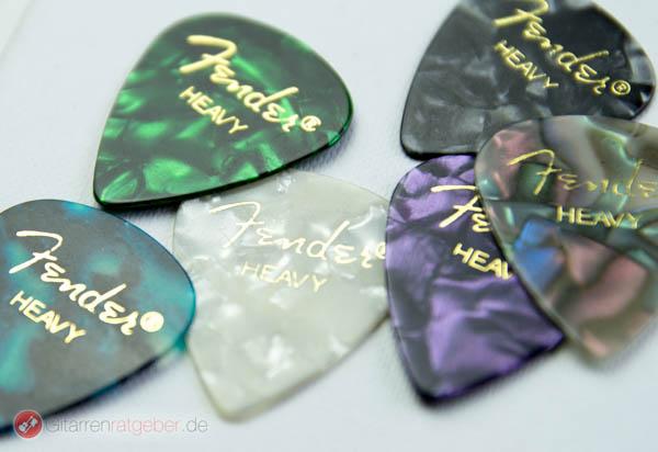 Fender 351 Plekten Beautyshot