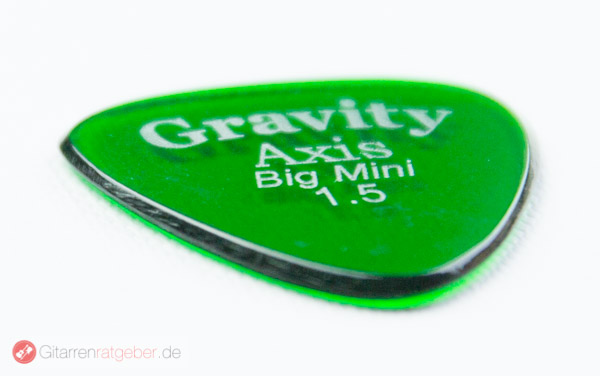Gravity Picks Axis Big Mini 1,5 seitlich