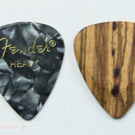 Timber Tones Zebrawood Größenvergleich