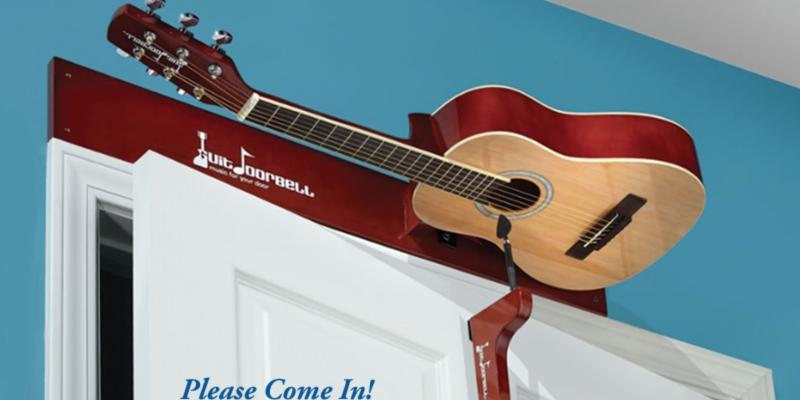 Gitarre als Türklingel – GuitDoorbell