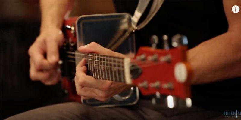 Gitarren aus Metallkisten? Geht! Boho-Series 2.0 von Bohemian Guitars