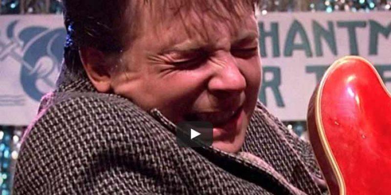 Zurück in die Zukunft – die Gitarren des Marty McFly am 21.10.2015